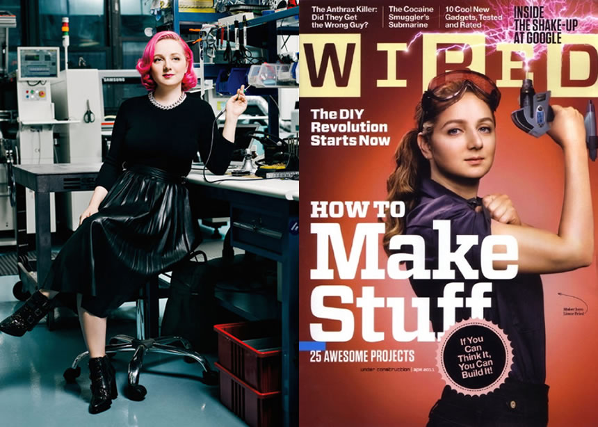About Adafruit - Press, Limor Fried / Ladyada & more...